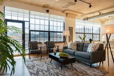 Milwaukee Condo/Townhouse Active Contingent With Offer: 311 E Erie St #208