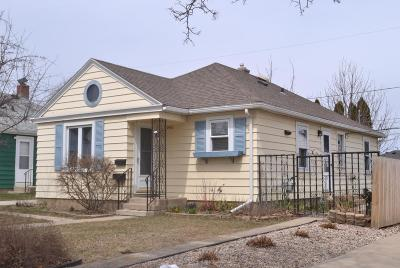 Racine County Single Family Home For Sale: 1416 Melvin Ave