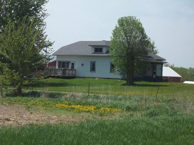 Watertown Single Family Home Active Contingent With Offer: W8529 County Road Q