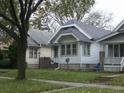 Milwaukee County Single Family Home For Sale: 4645 N 30th St