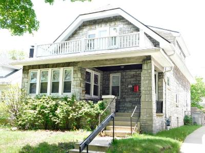 Milwaukee County Single Family Home For Sale: 1263 N 45th St