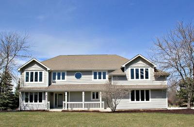 Pewaukee Single Family Home Active Contingent With Offer: N18w29022 Golf Ridge S
