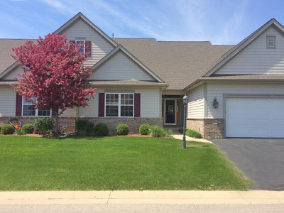 Slinger Condo/Townhouse Active Contingent With Offer: 1724 Cedar Ridge Dr