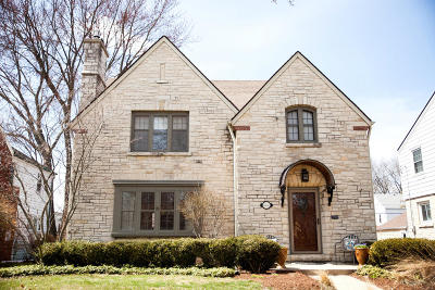 Whitefish Bay Single Family Home Active Contingent With Offer: 5531 N Hollywood Ave