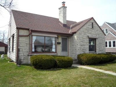 Greenfield Single Family Home Active Contingent With Offer: 3841 S 56th St