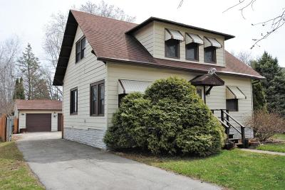 Walworth Single Family Home For Sale: 114 Wood St