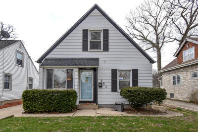 Single Family Home Active Contingent With Offer: 151 N 72nd St