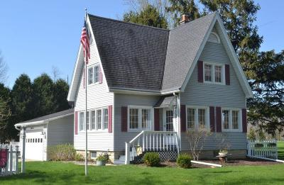 Pewaukee Single Family Home Active Contingent With Offer: N26w27393 Prospect Ave