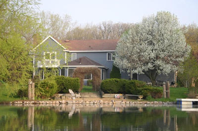 Pleasant Prairie WI Single Family Home Active Contingent With Offer: $549,900