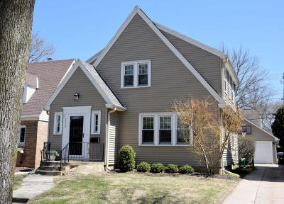 Whitefish Bay Single Family Home Active Contingent With Offer: 5928 N Kent Ave
