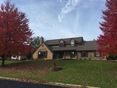 Menomonee Falls Single Family Home Active Contingent With Offer: W167n5157 Grey Log Ln