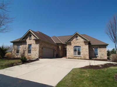 West Bend Single Family Home Active Contingent With Offer: 6471 River Ct