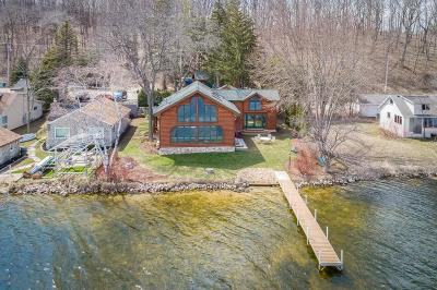 Campbellsport Single Family Home Active Contingent With Offer: 3713 N State Road 67