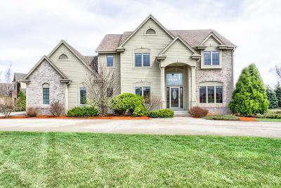 Menomonee Falls Single Family Home For Sale: W132n6456 Marach Rd