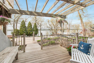 Lake Geneva Single Family Home For Sale: W4137 Lakeview Rd