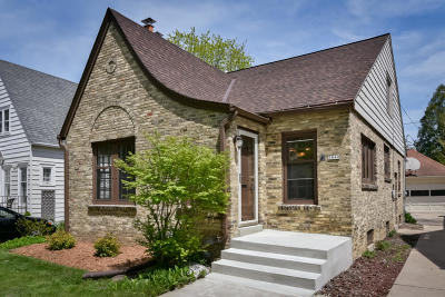 Whitefish Bay Single Family Home Active Contingent With Offer: 5840 N Shoreland