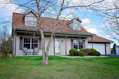 Campbellsport Single Family Home Active Contingent With Offer: N543 Hillside Ct