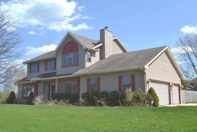 Pleasant Prairie WI Single Family Home Active Contingent With Offer: $290,000