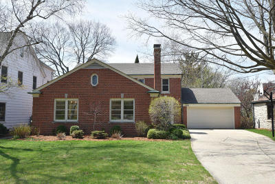 Shorewood Single Family Home Active Contingent With Offer: 4481 N Prospect Ave