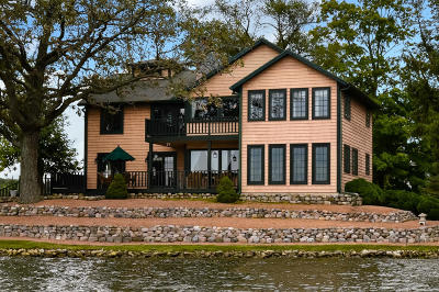 Racine County Single Family Home For Sale: 1 Private Island #6524 Wil