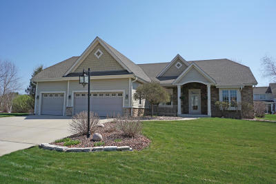 Menomonee Falls Single Family Home Active Contingent With Offer: W150n7340 Wood View Dr