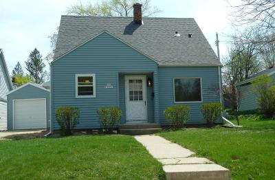 Menomonee Falls Single Family Home Active Contingent With Offer: N86w16591 Jacobson Dr