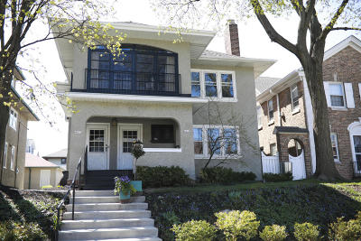 Shorewood Single Family Home Active Contingent With Offer: 4031 N Downer Ave