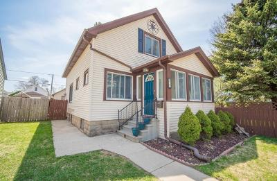 South Milwaukee Single Family Home Active Contingent With Offer: 317 Marquette Ave