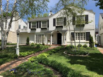 Whitefish Bay Single Family Home Active Contingent With Offer: 6110 N Berkeley Blvd