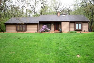 Mukwonago Single Family Home Active Contingent With Offer: S84w30397 Chestnut Dr