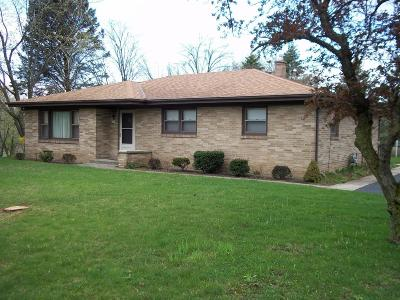 Racine Single Family Home Active Contingent With Offer: 7750 Botting Rd