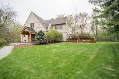 Milwaukee County Single Family Home Active Contingent With Offer: 7715 N River Rd