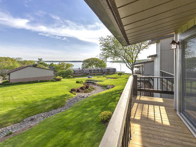 Lake Geneva Condo/Townhouse Active Contingent With Offer: 1070 S Lake Shore Dr #4 2-B