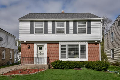 Whitefish Bay Single Family Home Active Contingent With Offer: 5275 N Kent Ave