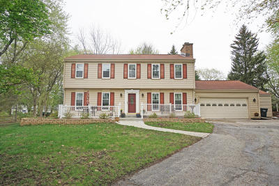 Waukesha Single Family Home Active Contingent With Offer: S38w27815 Merriwood Ct
