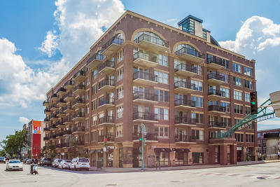 Milwaukee Condo/Townhouse Active Contingent With Offer: 102 N Water St #203
