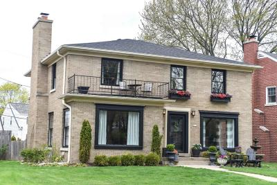 Whitefish Bay Single Family Home Active Contingent With Offer: 5519 N Hollywood Ave