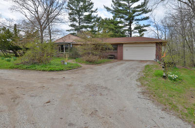 Racine Single Family Home Active Contingent With Offer: 4444 N Green Bay Rd