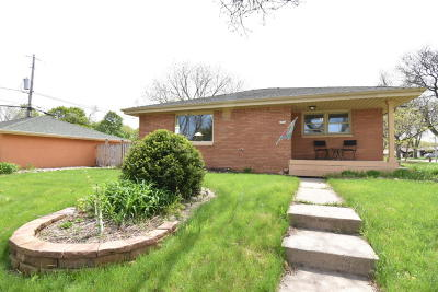 West Allis Single Family Home Active Contingent With Offer: 2356 S 96th St