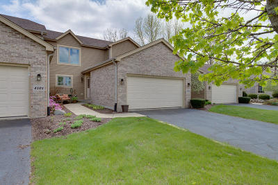 Kenosha Condo/Townhouse Active Contingent With Offer: 4113 Prairie Village Dr #2