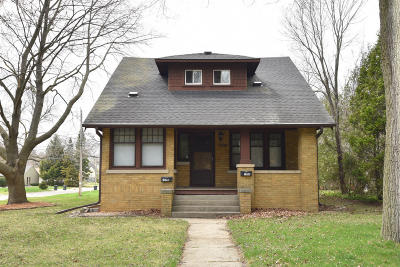 South Milwaukee Two Family Home Active Contingent With Offer: 1520 Lake Dr