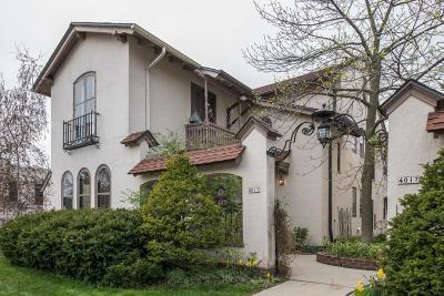 Shorewood Condo/Townhouse Active Contingent With Offer: 4013 N Downer Ave