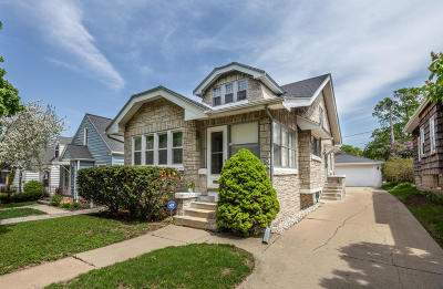 West Allis Single Family Home Active Contingent With Offer: 1428 S 88th
