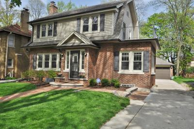Whitefish Bay Single Family Home Active Contingent With Offer: 4940 N Cumberland Blvd