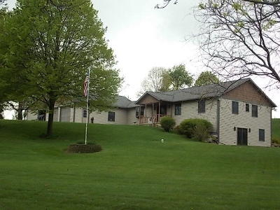 Fort Atkinson Single Family Home For Sale: N2775 Mode Ln