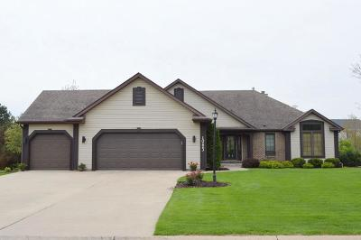 Pleasant Prairie WI Single Family Home For Sale: $424,900