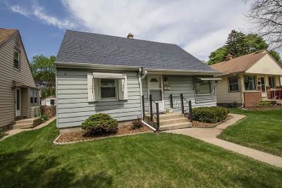 West Allis Single Family Home Active Contingent With Offer: 10610 W Rogers St