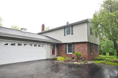Cedarburg Single Family Home Active Contingent With Offer: N33w5481 Hamilton Rd
