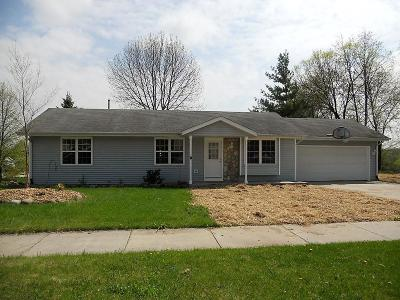 West Bend Single Family Home For Sale: 3611 Winter Dr