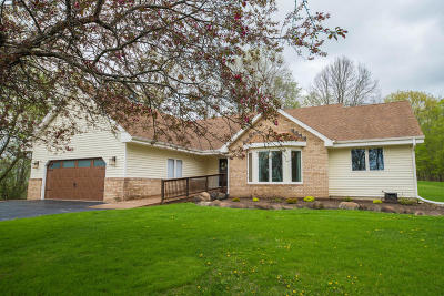 Waukesha Single Family Home Active Contingent With Offer: S71w26235 Marsh Ave